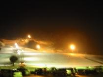 ナイタースキー場