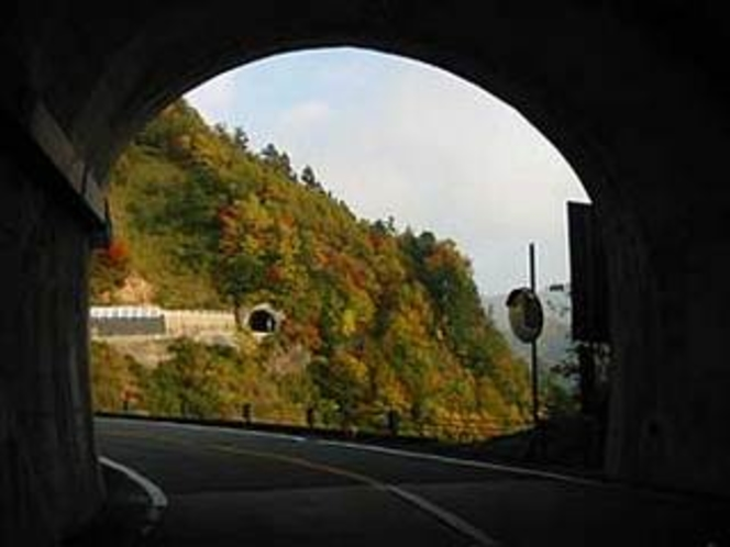 トンネル白山スーパー林道