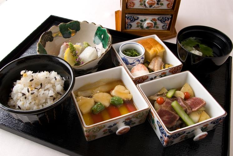 日本料理「矼」ミニ会席例