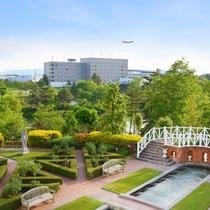 隣接する広島エアポートホテル