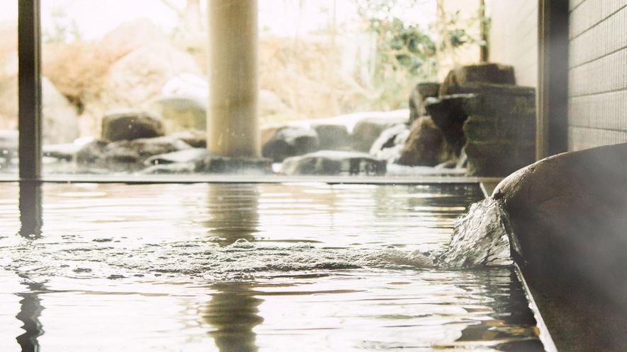 <桜ヶ池温泉>源泉