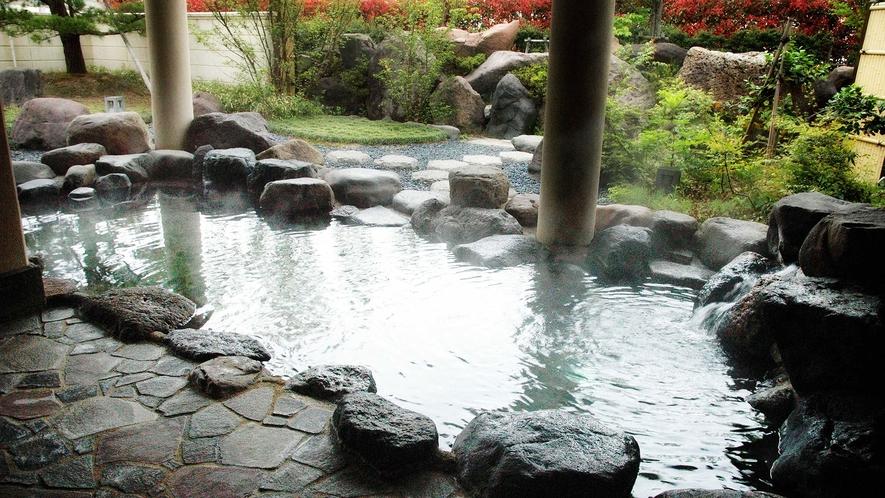 【桜ヶ池温泉】露天風呂