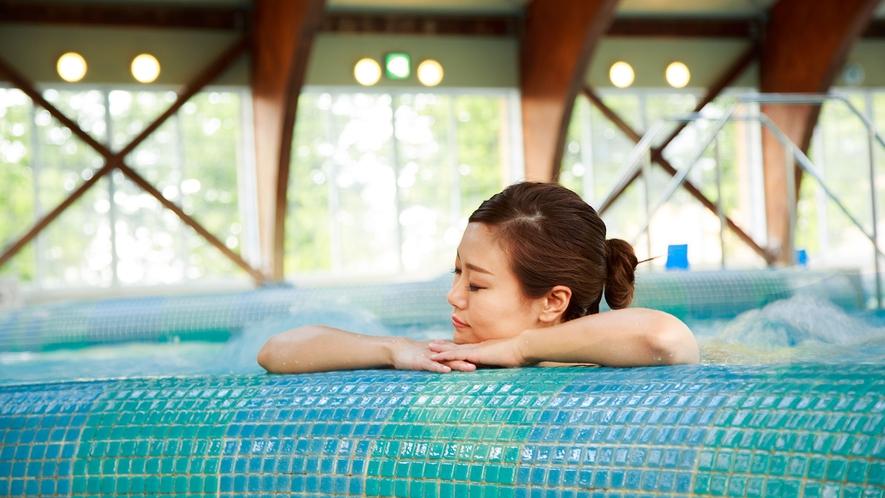 <ご宿泊のお客様プール無料>コリをほぐす天然温泉ジェットマッサージプール