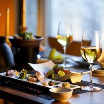 【ご夕食とワイン】