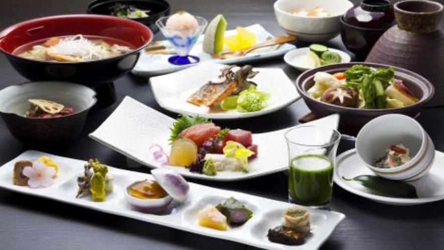 【夕食】和食会席料理