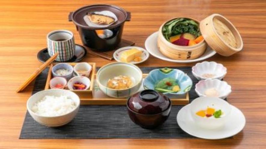 【朝食】和食御膳立て料理