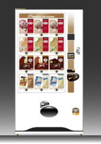 アイスクリーム自動販売機