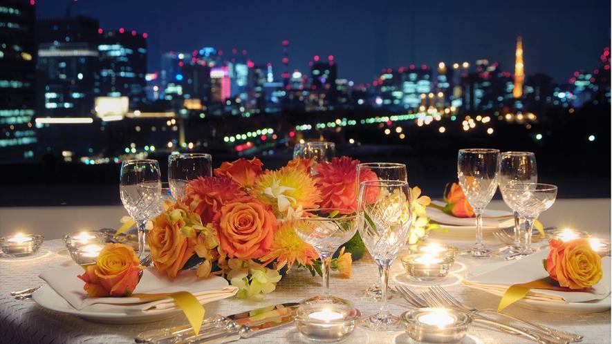 レストラン『芙蓉』:夜景②