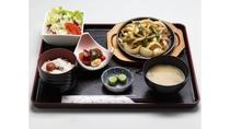 【牛バラ焼き定食】スタミナばっちり!ボリュームたっぷり!