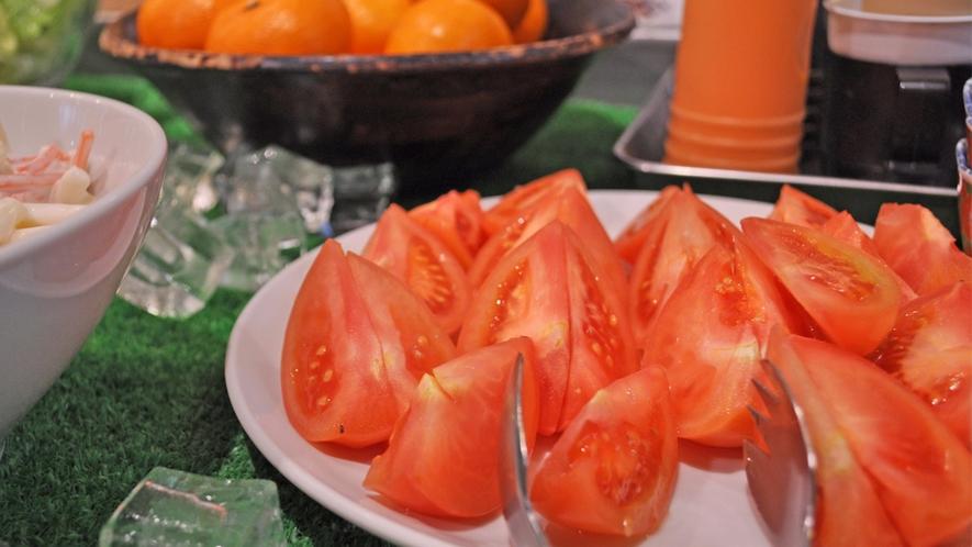 【朝食バイキング一例】新鮮なトマト