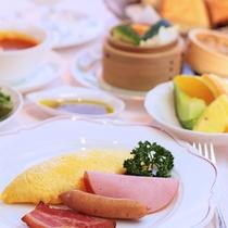 朝食 アメリカンブレックファスト
