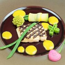 ディナー 魚料理イメージ