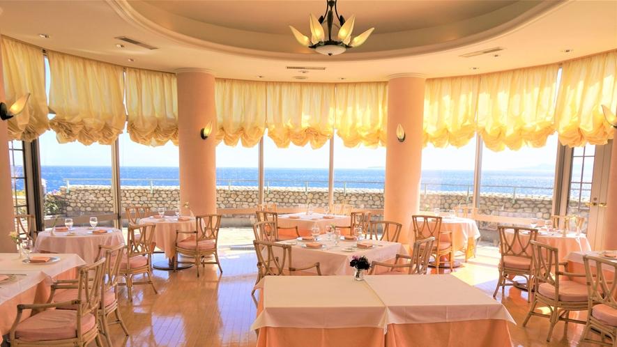 レストラン-Le-Phare(ル・ファール)~海を眺めながらゆったりとお食事をお楽しみください