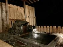 海の見える貸切露天風呂 夜