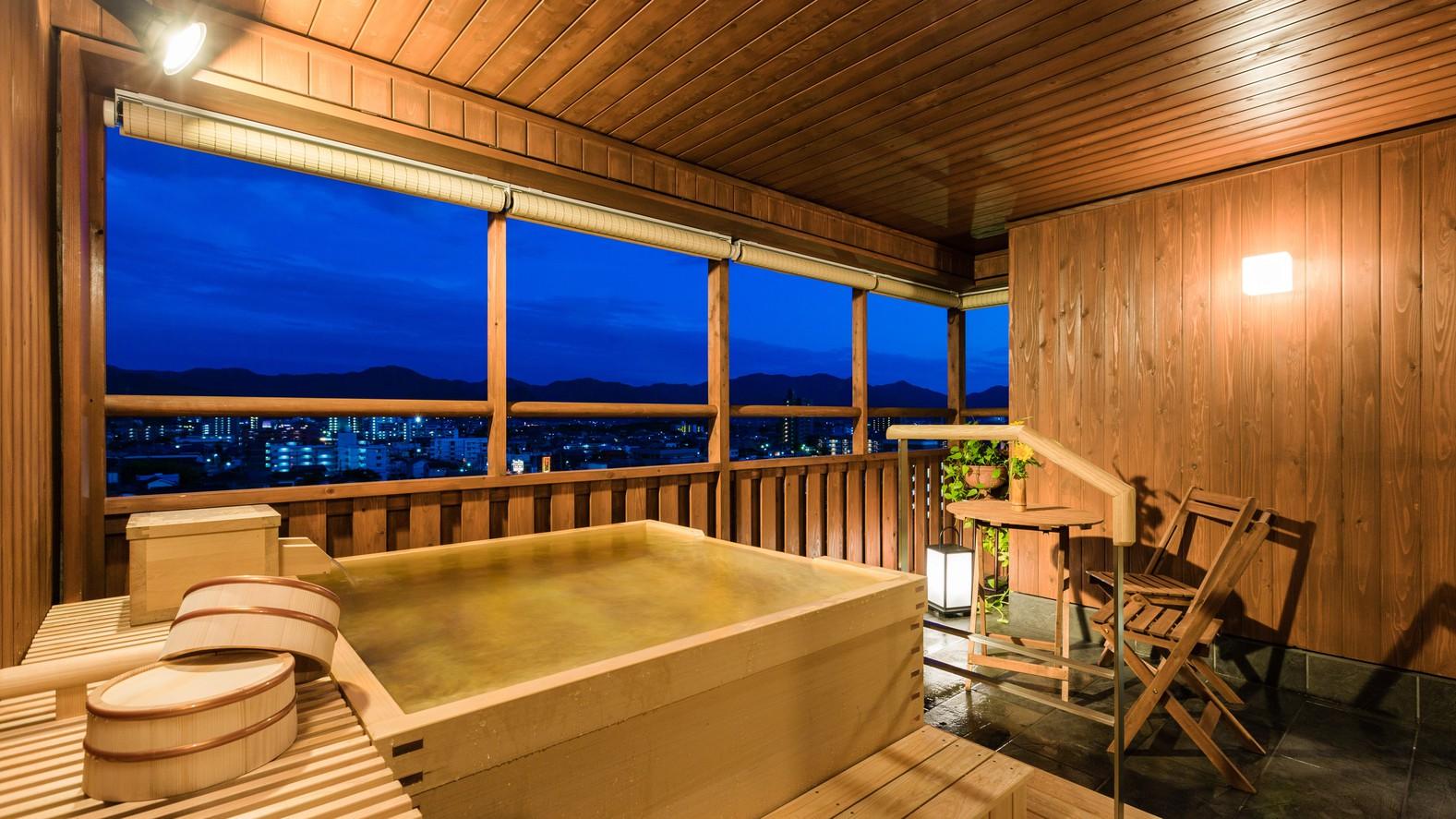 ◆エグゼクティブフロア 悠玄-yugen-◆【夕霧】露天風呂