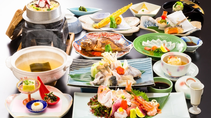 """■海鮮グルメ会席■-山陰山陽-美味海鮮の宴-""""余すことなく""""海の幸をお届け♪"""