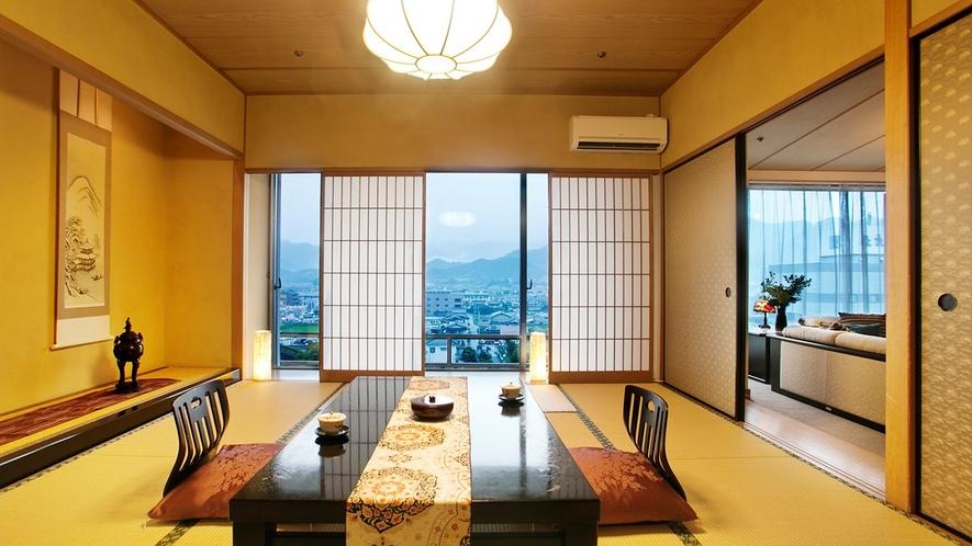 ◆エグゼクティブフロア 悠玄-yugen-◆【桐壷】和室