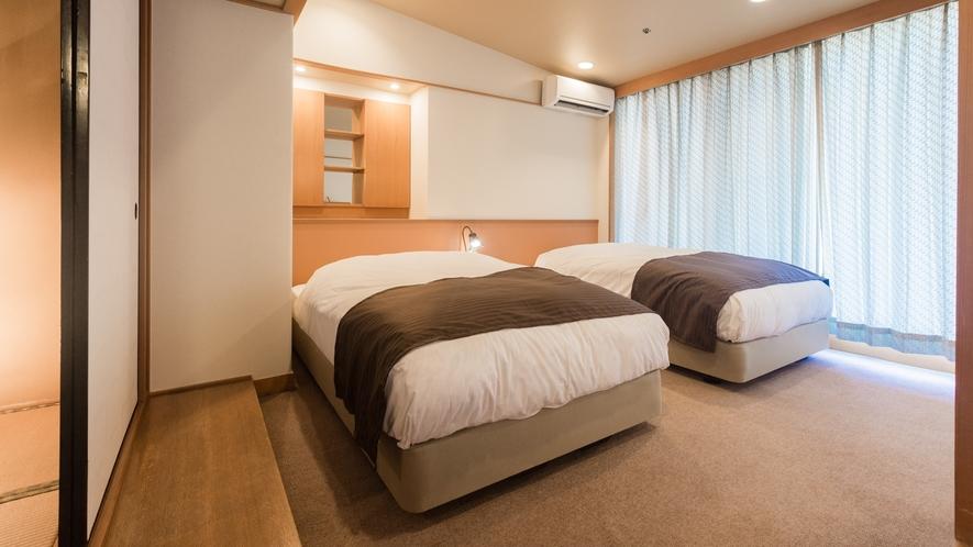 ◆エグゼクティブフロア 悠玄-yugen-◆【藤壷】ベッドルーム