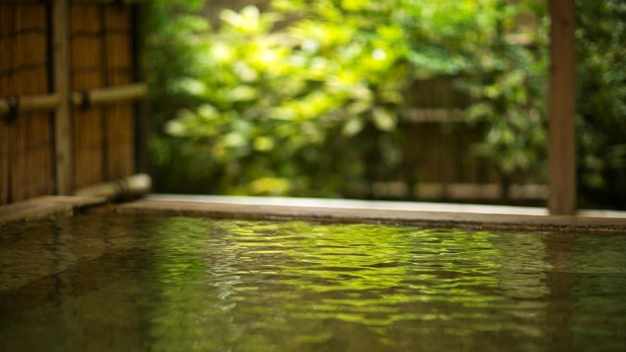 ■桧露天風呂【山頭火の湯】