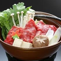 寒い冬にピッタリの牛すき鍋