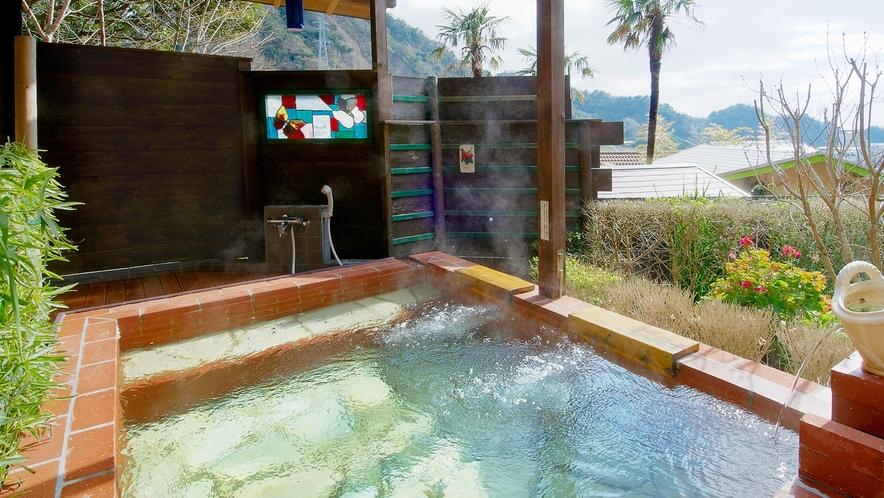 【お風呂】雲上の貸切露天風呂♪