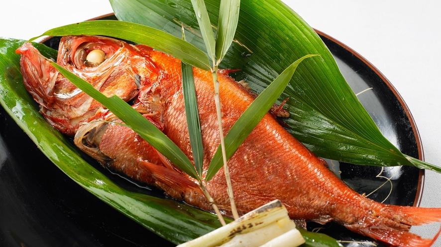 【お夕食】2泊目メインの一つ「煮魚」