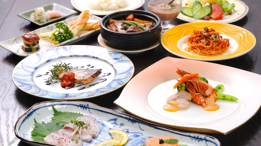 【お夕食】イタリアンディナーコース♪