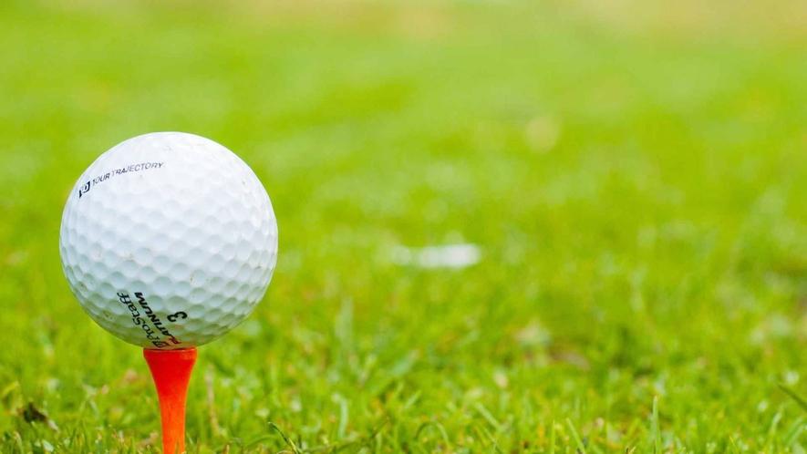 ・【ゴルフ場へのアクセスも便利】
