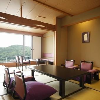 汀館(みぎわかん) 全室海側 和室12.5畳+3畳/喫煙