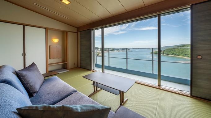 【禁煙客室・フロア】ひとつ上の贅沢を・・・汀館最上階「天空フロア」で鳥羽湾を独り占め