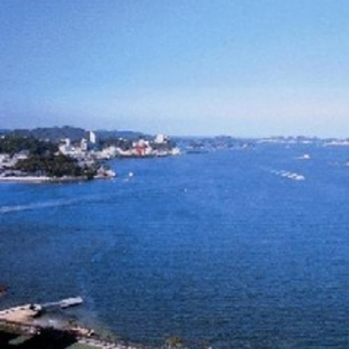 ホテルから見る鳥羽湾