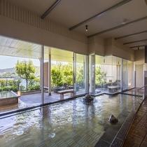 望館6階「風見の湯」男湯内風呂