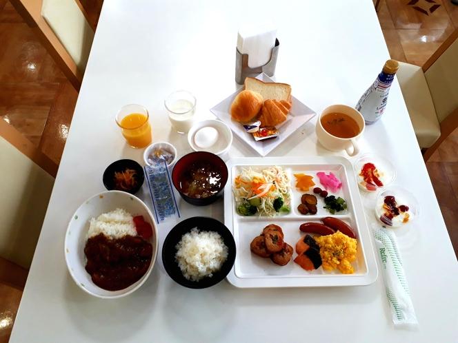 朝食【バイキング形式】