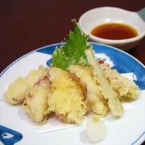 別注料理 「たこ天ぷら」