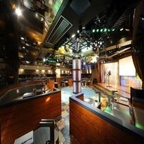 【ナイトラウンジ】「鯱(シャチ)」ボックス席が4×11席。約60名様まで収容