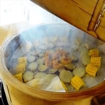 【朝食バイキング】ホクホクの温野菜