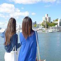 【 港町散歩 】 違う角度からの海沿いをご覧いただけます。