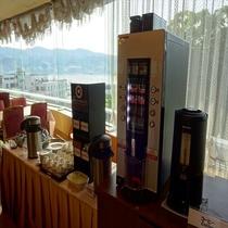 【朝食バイキング】コーヒーコーナー
