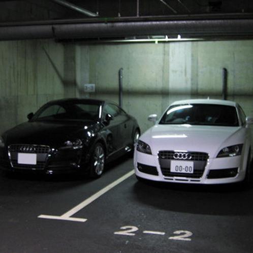 【完備】駐車場1泊 700円