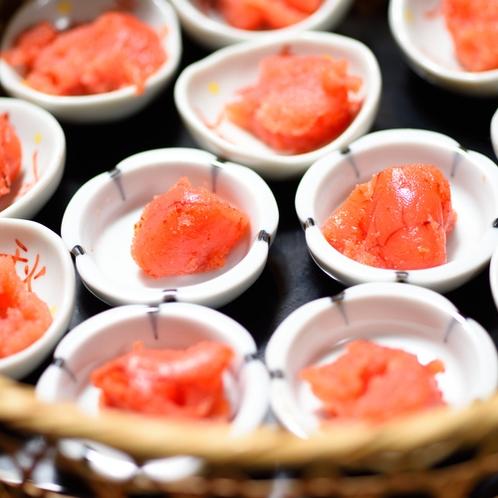 【朝食】彩り小鉢