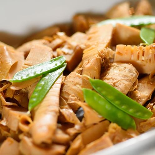 【朝食】竹の子の土佐煮
