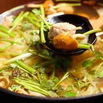 【朝食】季節の鍋物