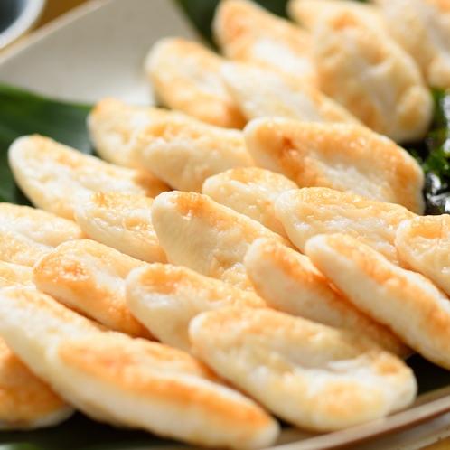 【朝食】仙台名物の笹かま