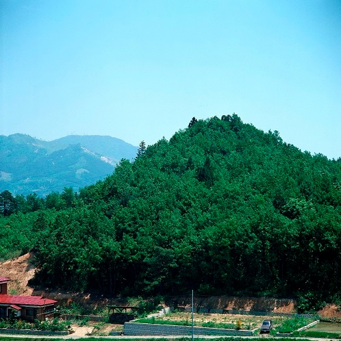 【世界遺産 平泉】史跡金鶏山