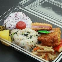 昼食弁当☆民宿で手作りだから安心安全(*'▽')