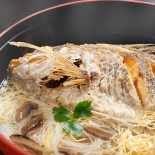 夫婦プラン:鯛麺