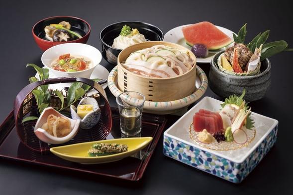 日本料理<みやま>月替わり会席付き(朝夕食7,700円付)