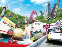 【よみうりランド】夏はプール、冬はイルミネーションなど、子供から大人まで楽しめる東京の遊園地
