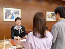 スタッフ一同、心からの笑顔で皆様お一人おひとりをお迎えいたします。