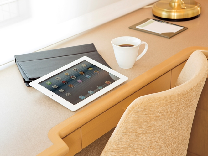 Wi-Fi(無線LANによるインターネット接続)は全室無料でお使いいただけます!